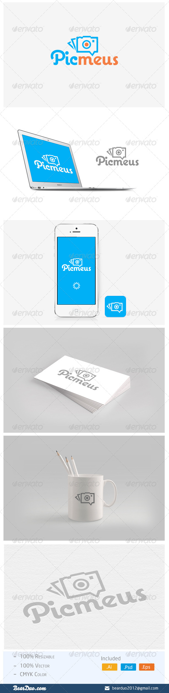 GraphicRiver Photo Sharing App Logo 5466229