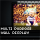 Multi Purpose 3D Wall Display - GraphicRiver Item for Sale