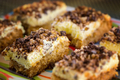 SlSlices of walnut cake - PhotoDune Item for Sale