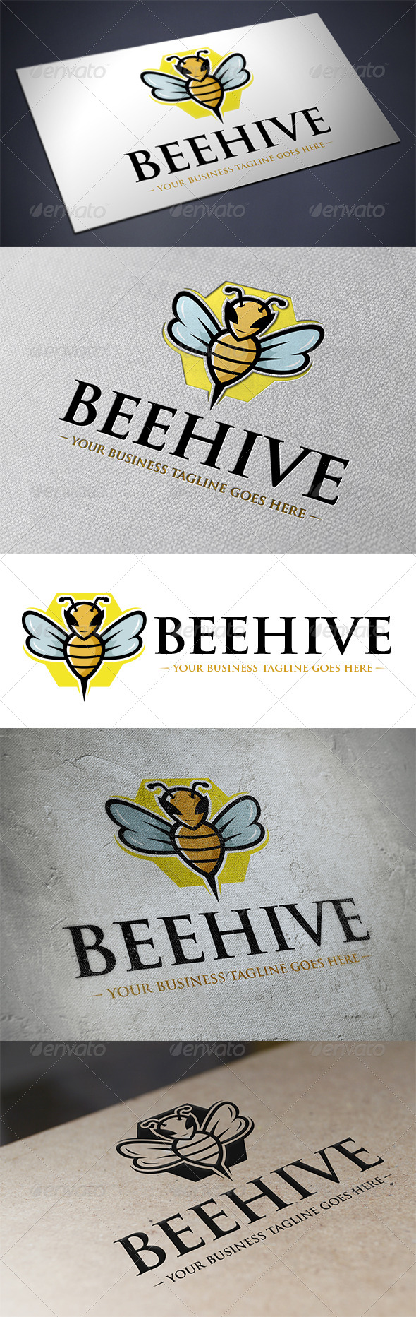 GraphicRiver Bee Logo Template 5482815
