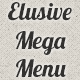 Elusive CSS3 Mega Menu (Navigation and Menus) Download