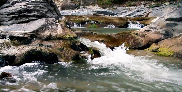 Mountain River Water Slowmotion 01
