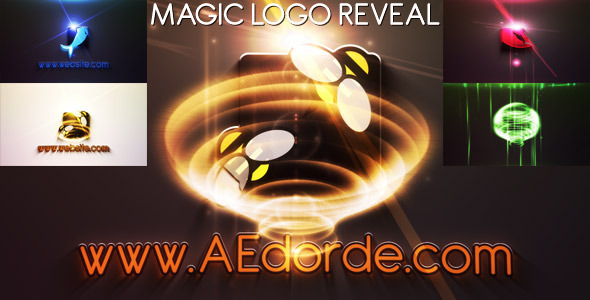 Magic Logo Reveal