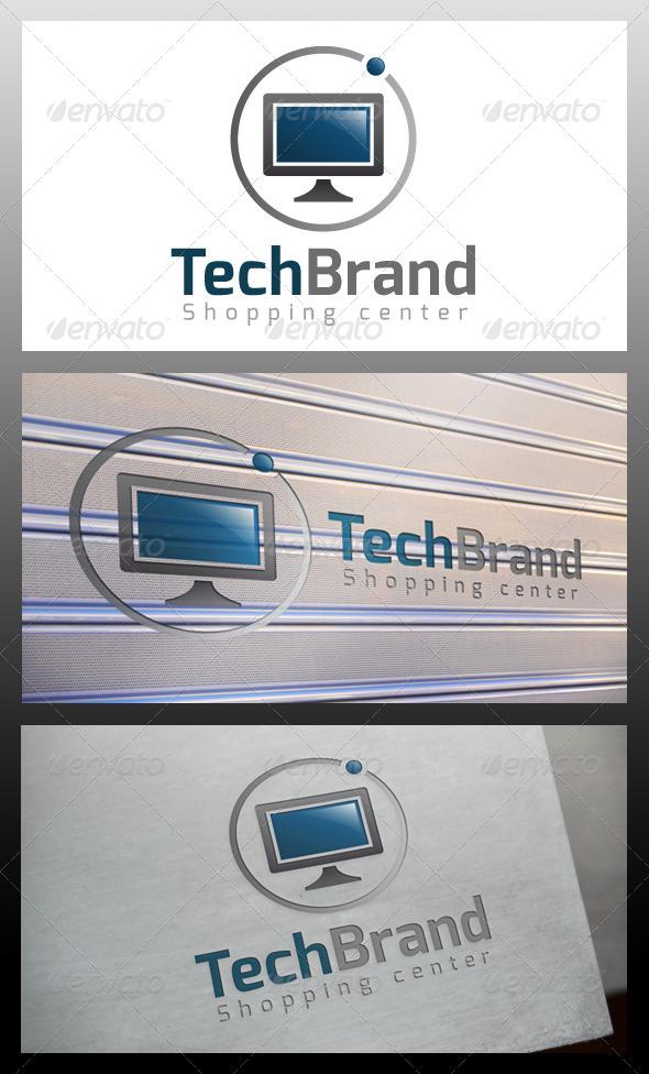 GraphicRiver Tech Brand Logo Template 5483366