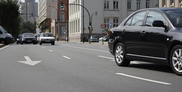 Street Traffic Time-Lapse 01