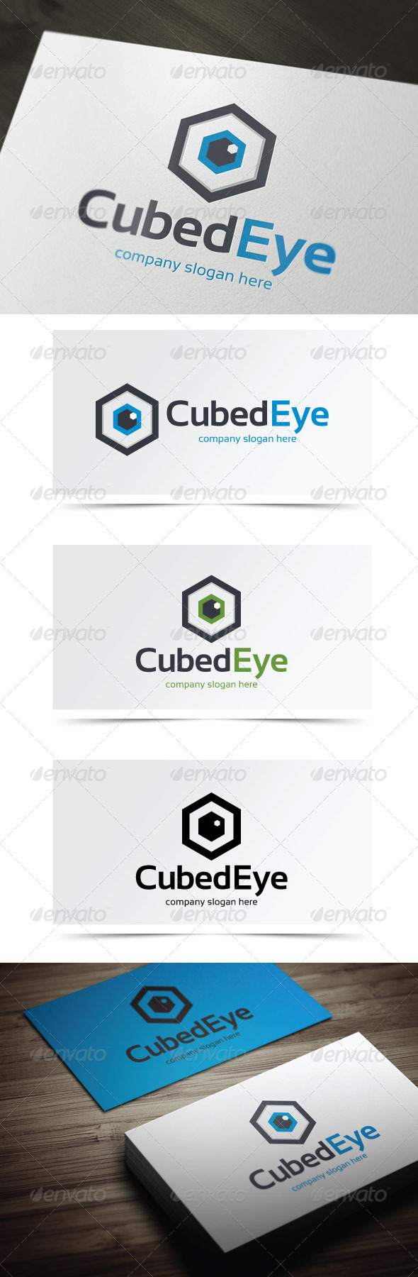 GraphicRiver Cubed Eye 5483520