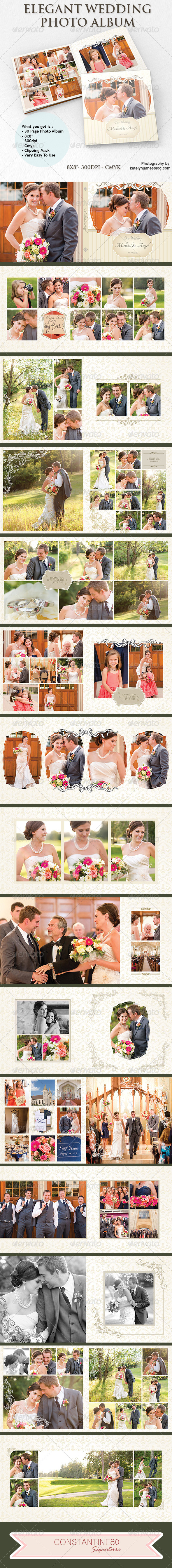 GraphicRiver Elegant Wedding Photo Album 5483702