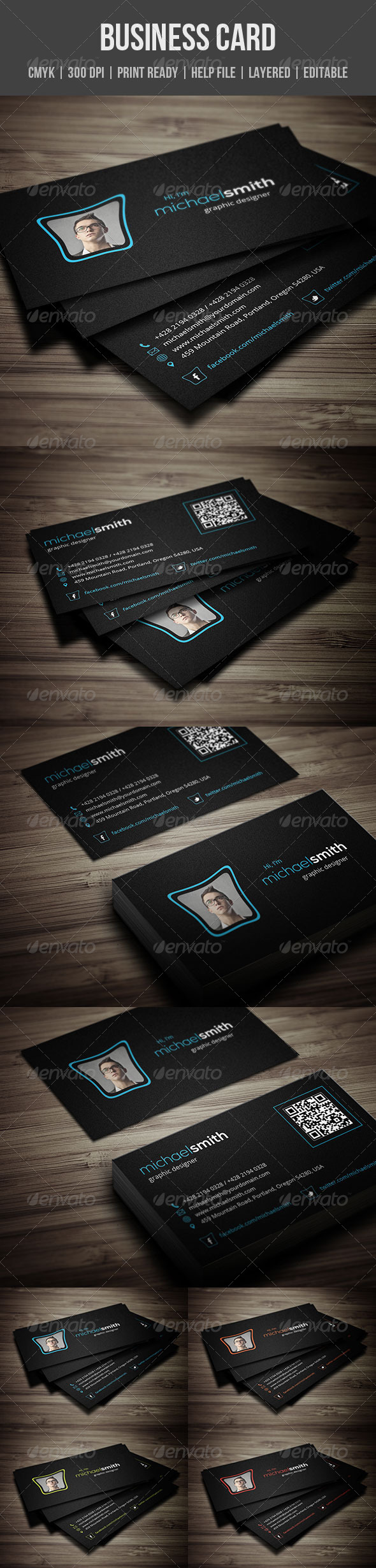 GraphicRiver Personal Business Card 5483769