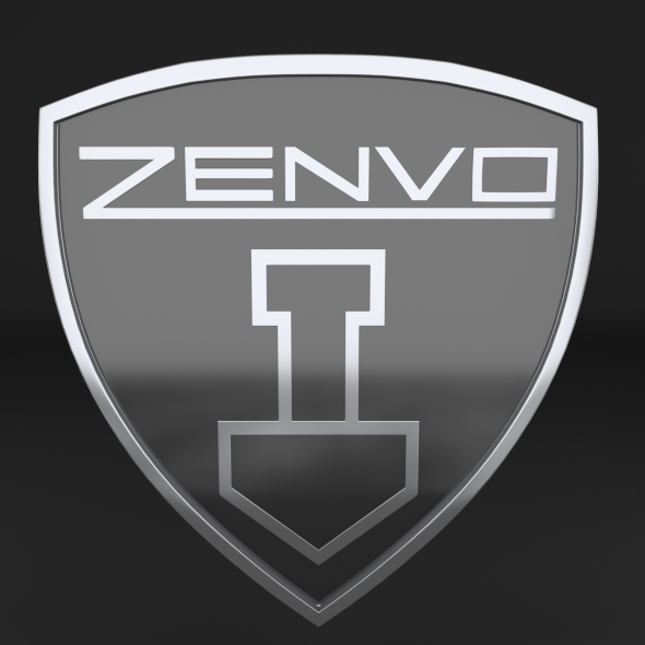 Zenvo Logo - 3DOcean Item for Sale