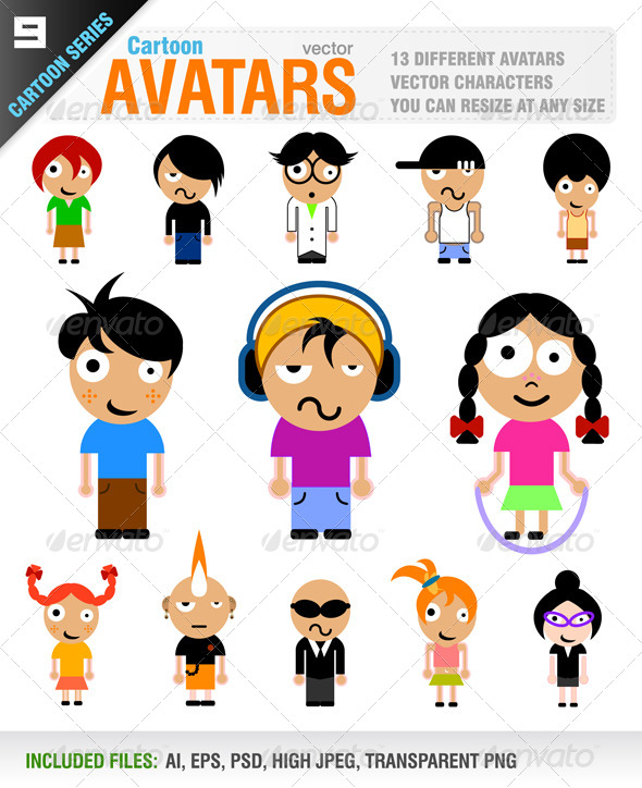 GraphicRiver Avatars 5484178