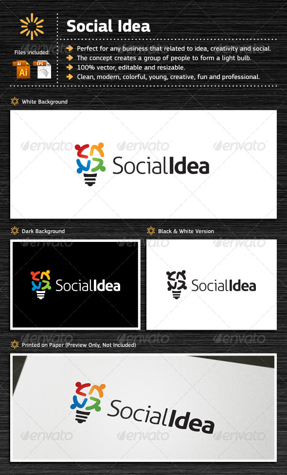 GraphicRiver Social Idea 5484291