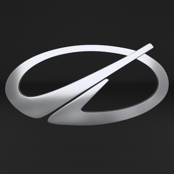 Oldmobile Logo - 3DOcean Item for Sale