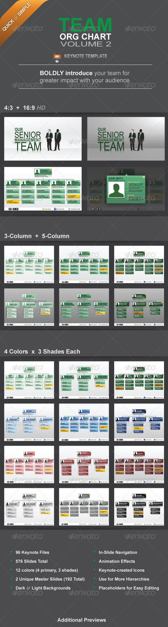 GraphicRiver Team Org Chart Vol 2 5484500