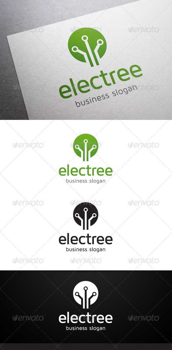 GraphicRiver Electree Logo 5484607