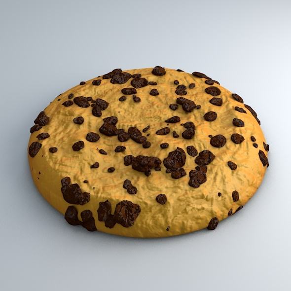 High Detailed Cookie Model - 3DOcean Item for Sale