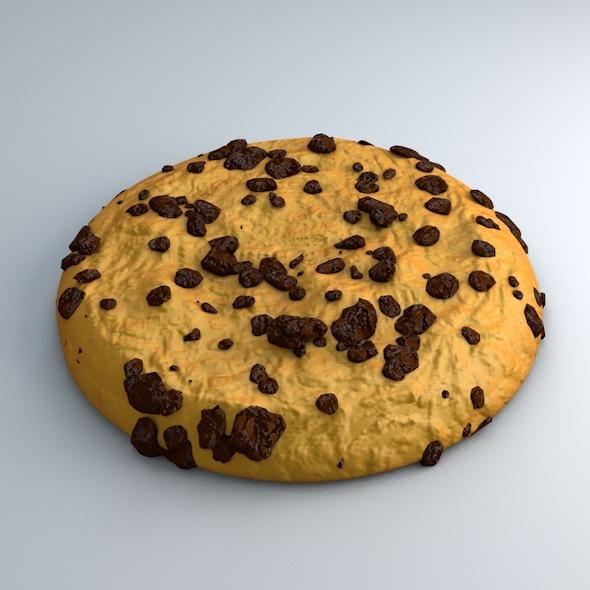 3DOcean High Detailed Cookie Model 5484646