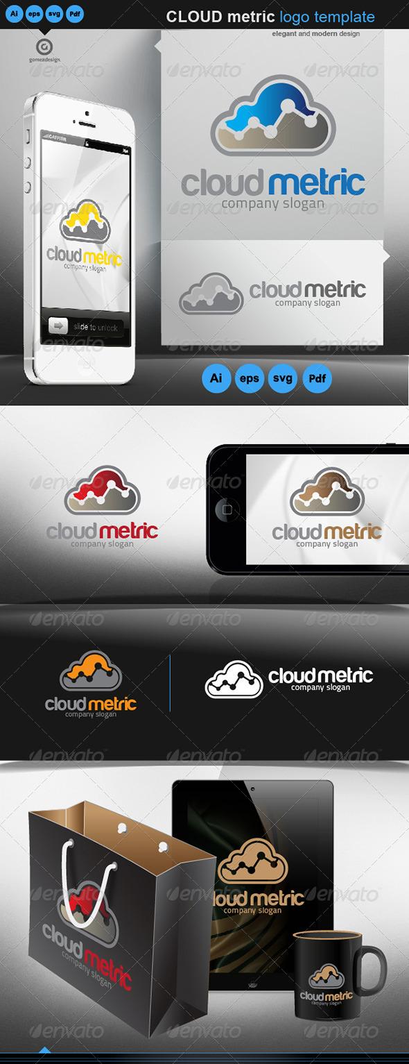 Cloud metric - Logo Templates