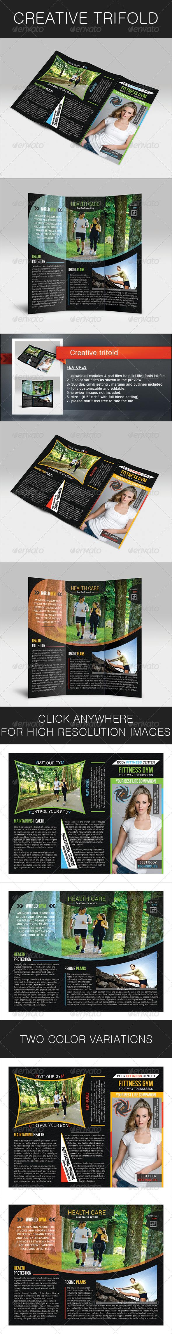 GraphicRiver Creative Trifold 5484691