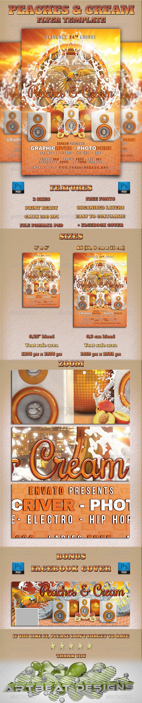 GraphicRiver Peaches & Cream Flyer Template 5455367