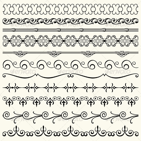 GraphicRiver Design Horizontal Elements 5484969