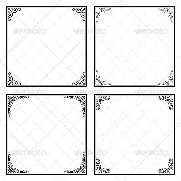 GraphicRiver Decorative Menu Frames 5485183