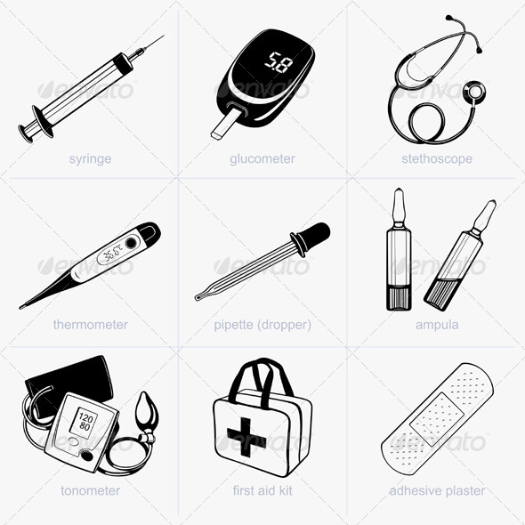 GraphicRiver Medical Supplies 5485201