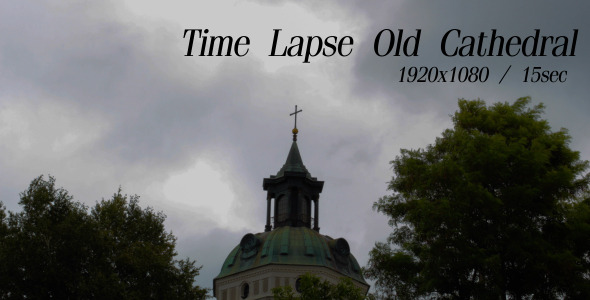 VideoHive Time Lapse Old Cathedral 5485543