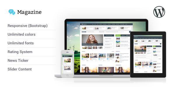 ThemeForest Magazine Responsive Multipurpose WordPress Theme 5467980