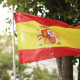 The Flag Of Spain In The City - VideoHive Item for Sale