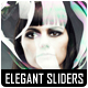 Elegant Dark Sliders - GraphicRiver Item for Sale