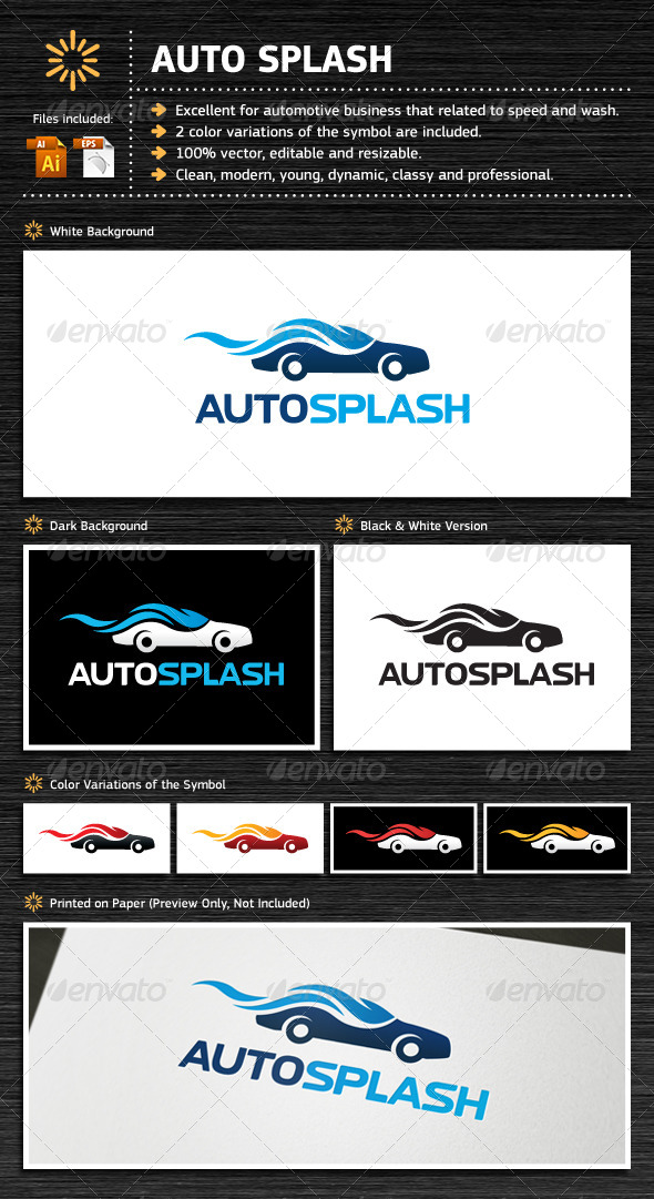GraphicRiver Auto Splash 5485916