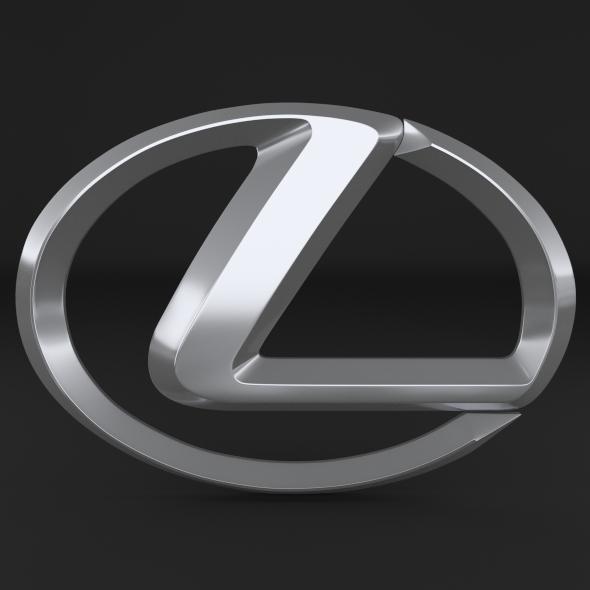 Lexus Logo - 3DOcean Item for Sale