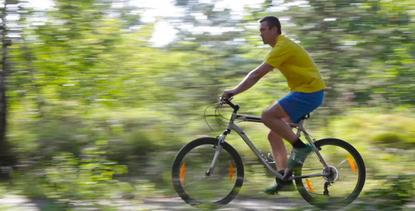 VideoHive Masculine Cyclist 5485922