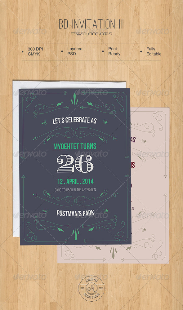 GraphicRiver BD Invitation III 5486280