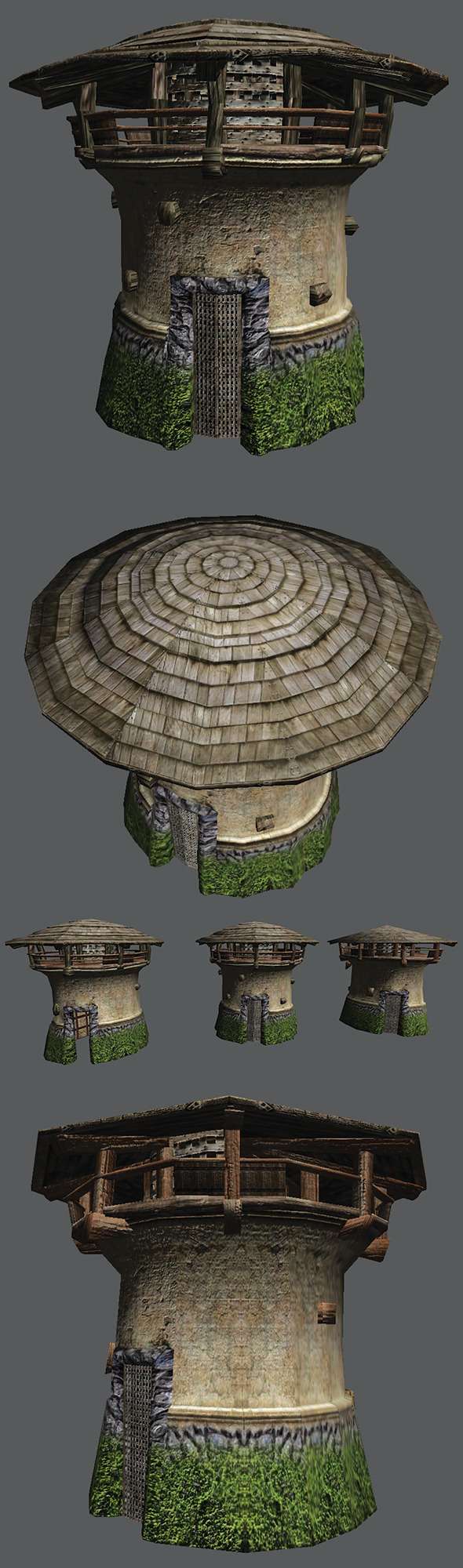 Round Tower - 3DOcean Item for Sale