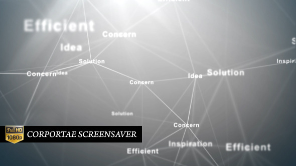 VideoHive Corporate Screensaver 5486469
