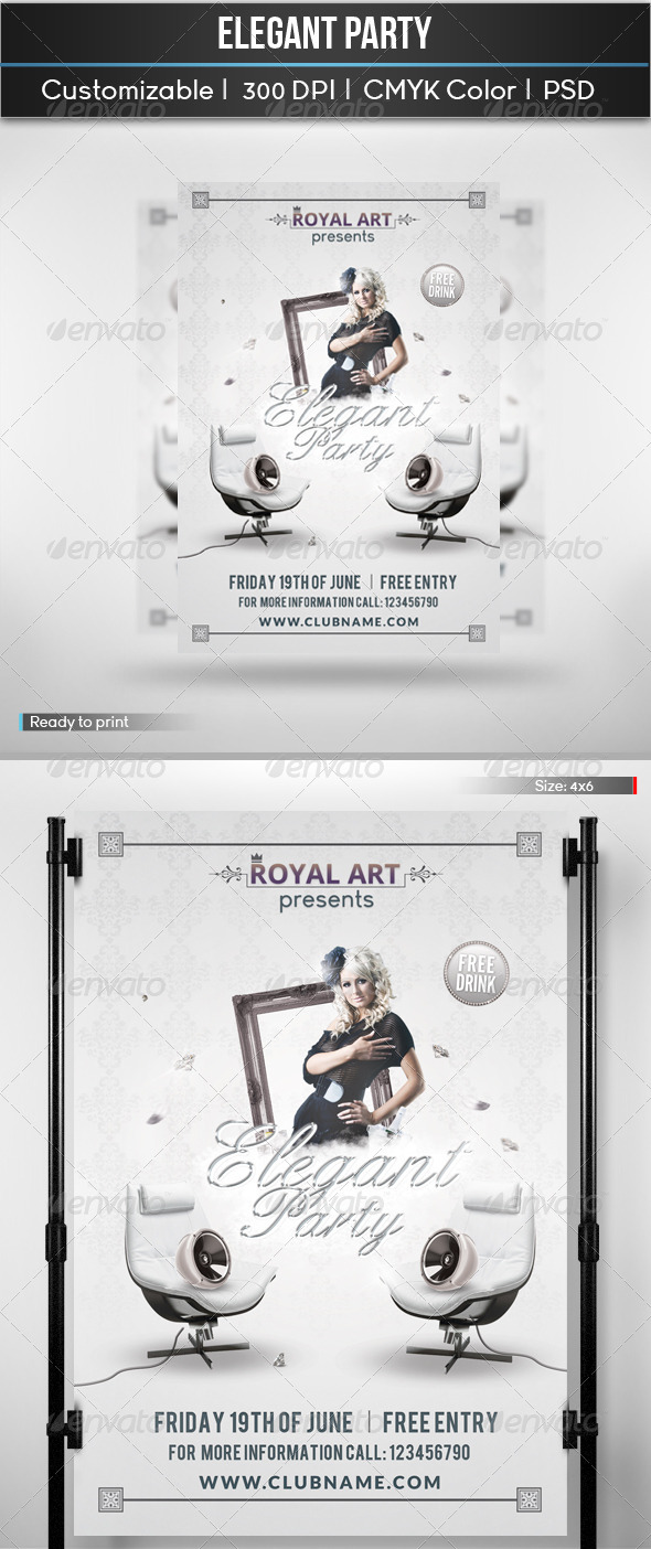 GraphicRiver Elegant Party 5466227