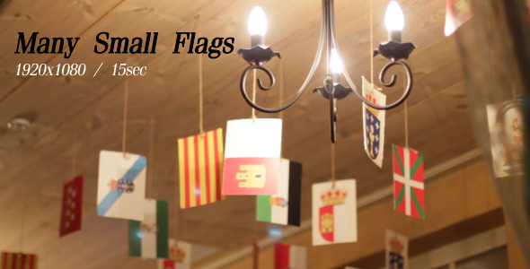 VideoHive Many Small Flags 2 5486641