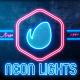 Neon Lights Badges