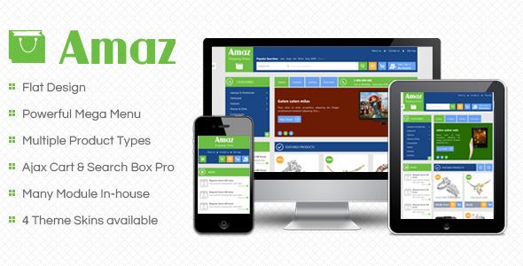 SM Amaz - Premium Responsive Magento Theme
