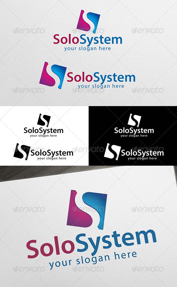 GraphicRiver Solo System Logo 5452743