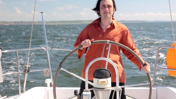 VideoHive Yacht Helmsman 5487077
