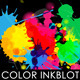 Color Inkblot Background Set - GraphicRiver Item for Sale