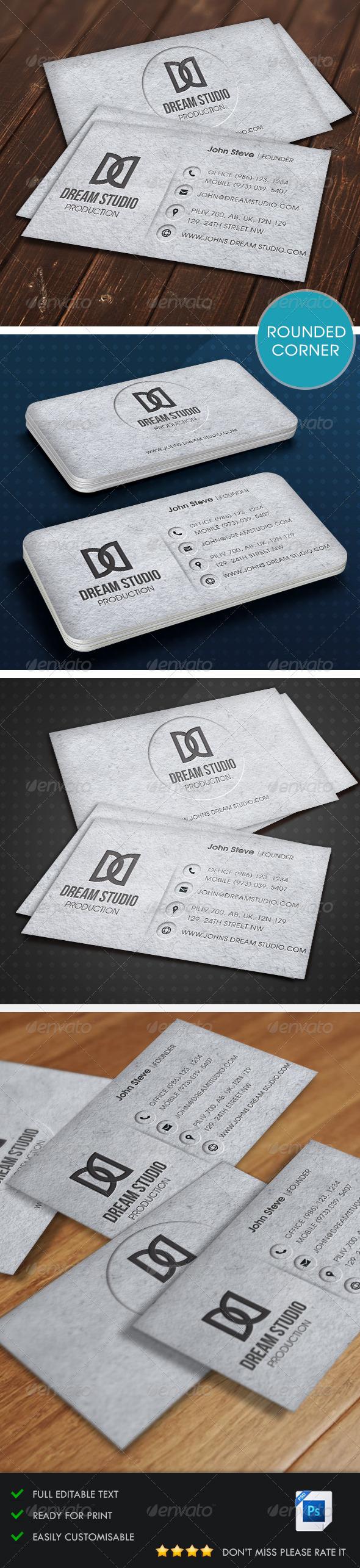 GraphicRiver Creative Business Card v3 5487493