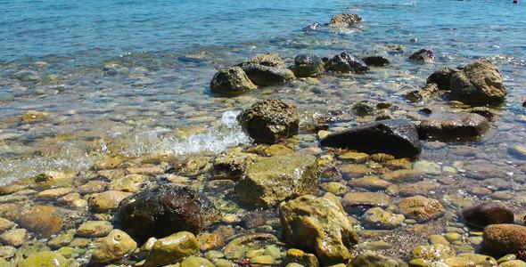 VideoHive Rocks in the Sea 5487673