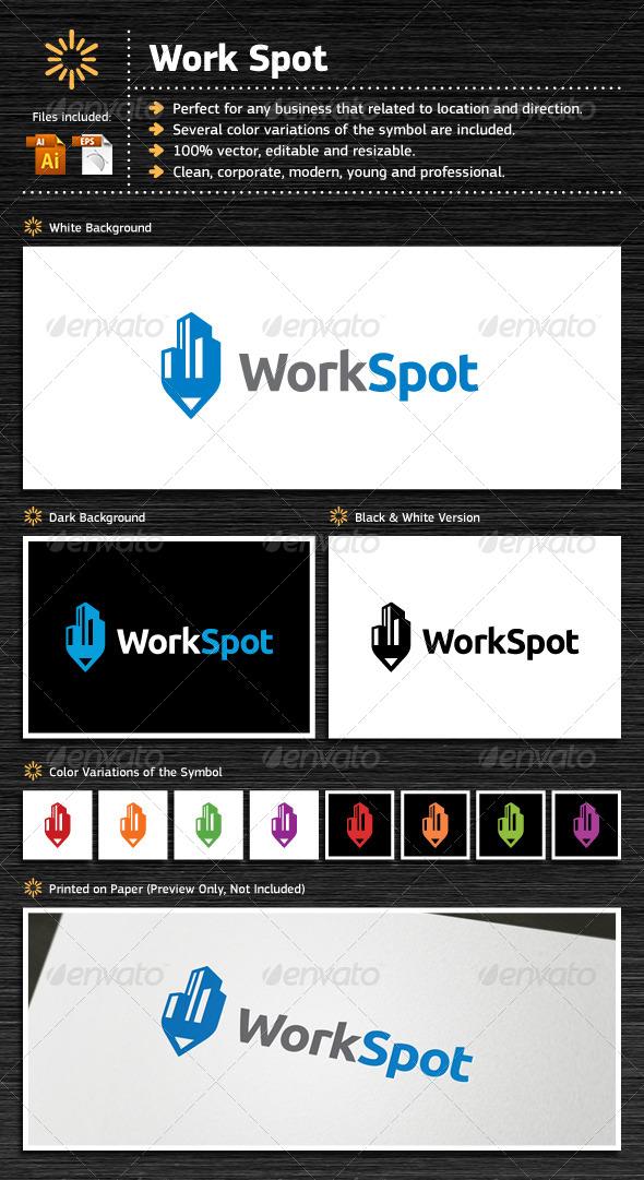 GraphicRiver Work Spot 5483082