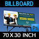 Construction Business Billboard Template - GraphicRiver Item for Sale