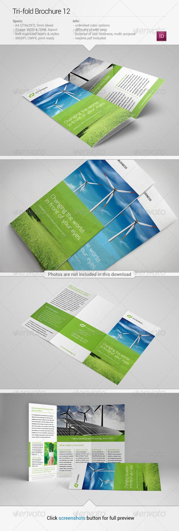 Tri-Fold Brochure 12