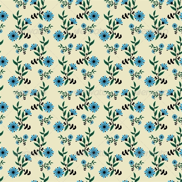 GraphicRiver Floral Pattern 5487983