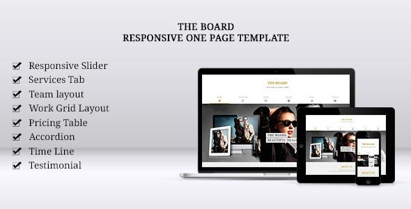 ThemeForest The Board 5483264
